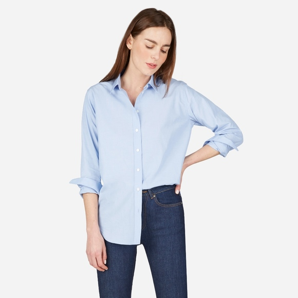 Everlane Tops - Everlane Relaxed Poplin Shirt